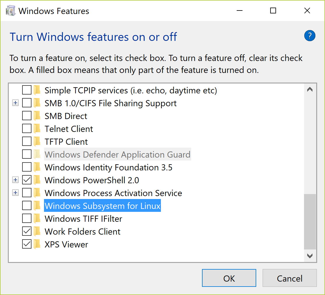 Installation on Windows Subsystem for Linux – OpenQBMM